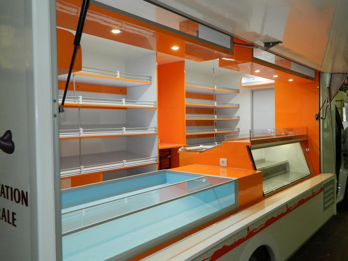 camion epicerie camion magasin remorque cellules. Black Bedroom Furniture Sets. Home Design Ideas