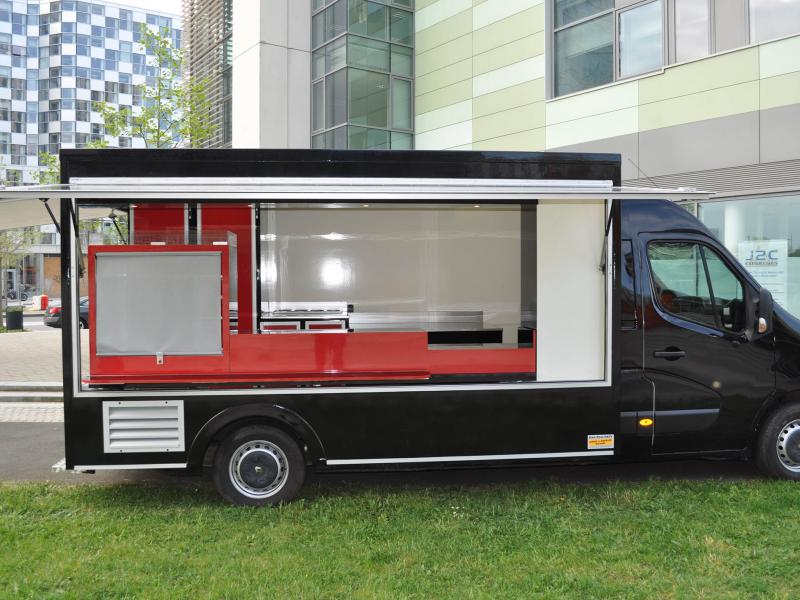 camion food truck pizza restauration rapide r tisserie camion magasin remorque cellules. Black Bedroom Furniture Sets. Home Design Ideas